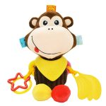 Cute Animal Multifunctional Hanging Baby Doll-Monkey