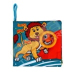 Cute BBSKY Guess the Animal cloth book -Lion