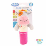 Cute Tony Lvee Colorful Squeaker Hand Rattle-Cow