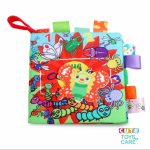 Cute Animal Label Cloth Book-Butterfly